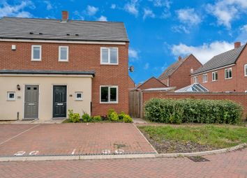 Thumbnail 3 bed semi-detached house for sale in Upper Bannisters Way, Hawksyard, Rugeley