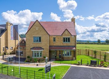 "Thumbnail 5 bed detached house for sale in ""The Campden "" at Malleson Road, Gotherington, Cheltenham"