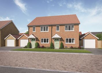 Thumbnail 3 bed semi-detached house for sale in Scholars Close, Manea, March