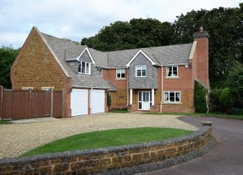 Thumbnail 5 bed detached house for sale in Saxons Lea, Pickwell, Melton Mowbray