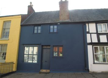 Thumbnail 2 bed terraced house for sale in Mount Street, Welshpool, Powys