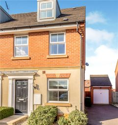 Thumbnail 3 bedroom semi-detached house for sale in Hillside Gardens, Wittering, Peterborough