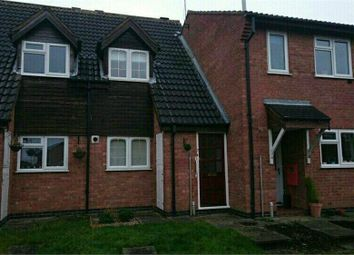 Thumbnail 2 bed terraced house to rent in Darwin Close, Broughton Astley, Leicester