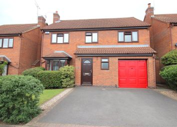 Thumbnail 4 bed detached house for sale in Silverburn Drive, Oakwood, Derby