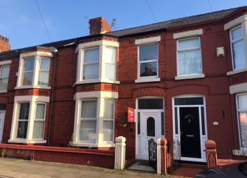 Thumbnail 3 bed terraced house to rent in Karslake Road, Mossley Hill, Liverpool