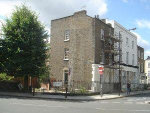 Thumbnail 4 bed flat to rent in St Pancras Way, Camden