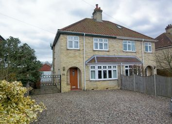 Thumbnail 4 bed semi-detached house to rent in Norwich Road, Wymondham, Norfolk