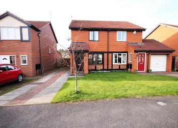 Thumbnail 2 bed semi-detached house for sale in Relley Garth, Langley Moor, Durham