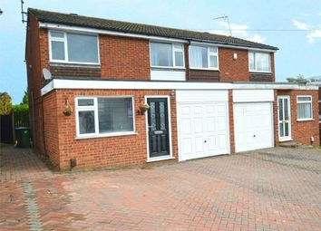 Thumbnail 3 bed semi-detached house for sale in Cornwallis Road, Bilton, Rugby, Warwickshire