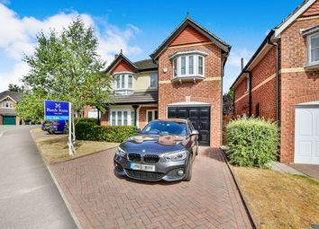 Thumbnail 4 bed detached house for sale in Ravenscroft Close, Middlewich