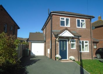 Thumbnail 3 bed detached house for sale in Corndon Crescent, Shrewsbury
