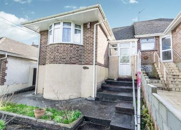 Thumbnail 2 bed semi-detached bungalow for sale in Budshead Road, Crownhill, Plymouth