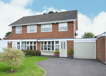 3 bed semi-detached house for sale in Binley Close, Shirley, Solihull B90