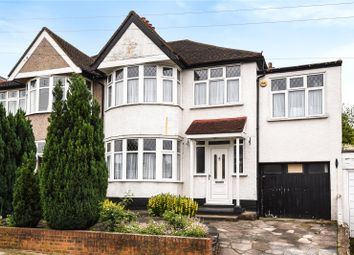 Thumbnail 4 bed semi-detached house for sale in The Highway, Stanmore, Middlesex