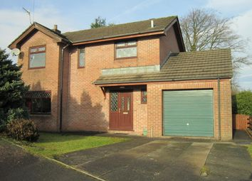 Thumbnail 4 bed detached house for sale in Denleigh Close, Gilfach