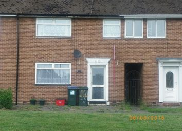 Thumbnail 1 bed terraced house to rent in Gerard Avenue, Canley, Coventry