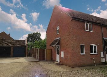 Thumbnail 2 bed semi-detached house to rent in Kemps Barns, East Harling, Norwich