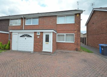 Thumbnail 3 bed semi-detached house for sale in Wilmington Avenue, Alvaston, Derby