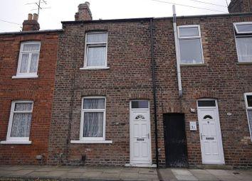 Thumbnail 2 bed terraced house to rent in Poplar Street, Poppleton Road, York