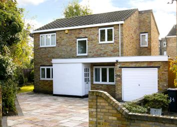 Thumbnail 3 bed detached house for sale in Riverside Close, Kingston Upon Thames