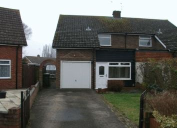 Thumbnail 3 bed semi-detached house to rent in Churchill Close, Didcot