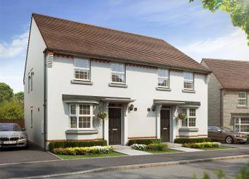 Thumbnail 3 bedroom semi-detached house for sale in Plot 23, Oakfield, Saxon Fields, Cullompton