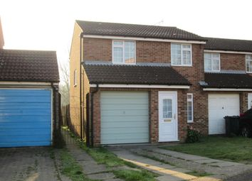 Thumbnail 3 bed semi-detached house to rent in Nutley Close, Ashford