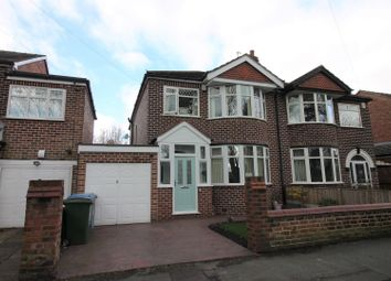 Thumbnail 4 bed semi-detached house for sale in Gleneagles Road, Urmston, Manchester
