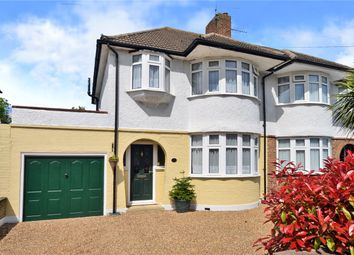 Thumbnail 3 bed semi-detached house for sale in Litchfield Avenue, Morden