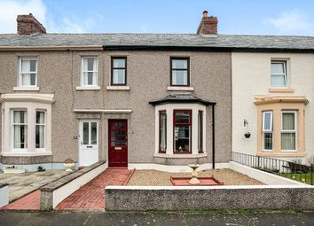 Thumbnail 3 bed terraced house for sale in Waver Street, Silloth, Wigton