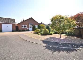Thumbnail 3 bed detached bungalow for sale in Wysteria Way, Snettisham, King's Lynn