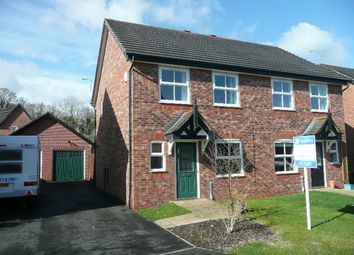 Thumbnail 3 bed semi-detached house to rent in Salt Meadows, Nantwich