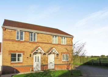Thumbnail 3 bed semi-detached house for sale in Stony Close, Stainforth, Doncaster