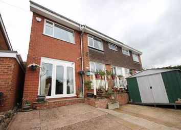Thumbnail 4 bedroom semi-detached house for sale in Dalehouse Road, Cheddleton, Staffordshire