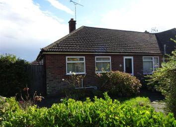 Thumbnail 2 bed semi-detached bungalow for sale in Defoe Road, Ipswich