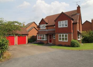 Thumbnail 4 bed detached house for sale in Glebe Close, Worksop