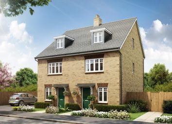"Thumbnail 3 bed semi-detached house for sale in ""Queensville"" at Southern Cross, Wixams, Bedford"