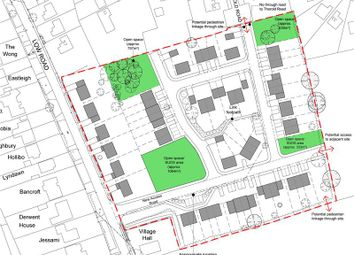 Thumbnail Commercial property for sale in Land East Of, Low Road, Barrowby, Grantham, Lincolnshire