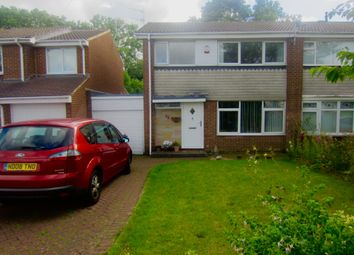 Thumbnail 3 bed semi-detached house to rent in Salisbury Road, Newton Hall, Durham