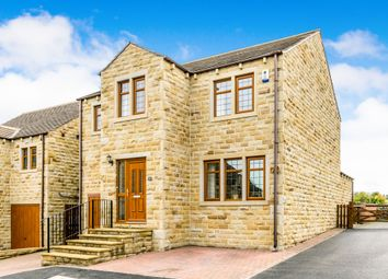 Thumbnail 4 bed detached house for sale in Broadacres, Honley, Holmfirth