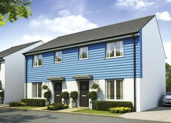 Thumbnail 3 bed semi-detached house for sale in Liskey Hill, Perranporth