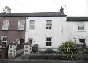 Thumbnail 3 bed terraced house to rent in Belle Vue Road, Plymouth