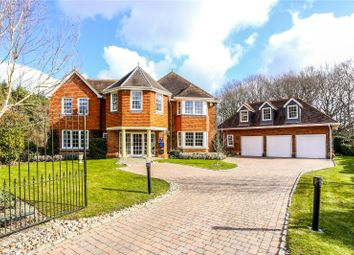 Thumbnail 5 bed detached house for sale in Gorse Lane, Chobham, Surrey