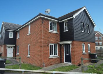 Thumbnail 2 bedroom semi-detached house for sale in Guillemot Close, Stowmarket