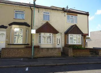 Thumbnail 2 bed terraced house to rent in Seaview Road, Gillingham, Kent.