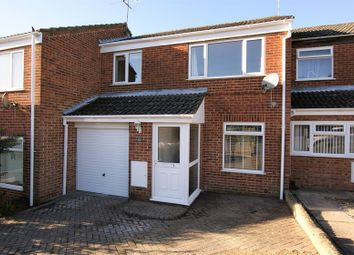 Thumbnail 3 bed terraced house to rent in Amber Road, Corfe Mullen, Wimborne