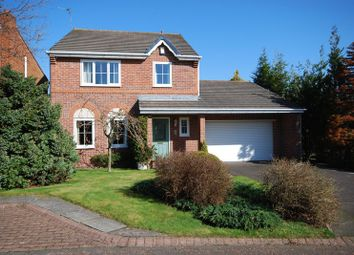 Thumbnail 4 bed detached house for sale in Swinton Close, Morpeth