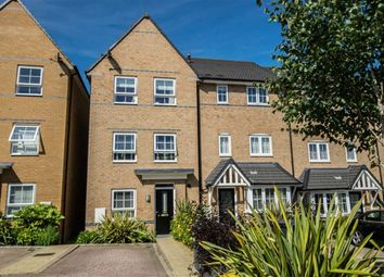 Thumbnail 4 bedroom town house for sale in Gallows Way, Hertford, Hertfordshire