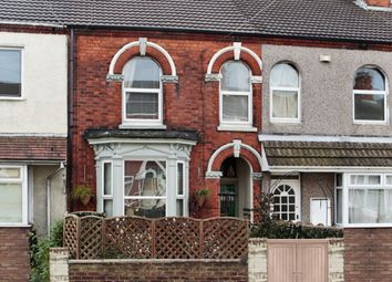 Thumbnail 3 bed terraced house for sale in Welholme Road, Grimsby, South Humberside