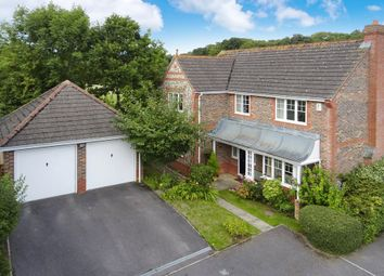 Thumbnail 4 bed detached house for sale in Wansey Gardens, Newbury